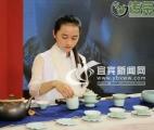 """茶博会上茶飘香""""川茶""""佳茗尽显品牌形象"""