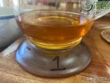 「闲暇品茶」第21-82期勐海茶厂2003年紫大益生茶(茶友交流)
